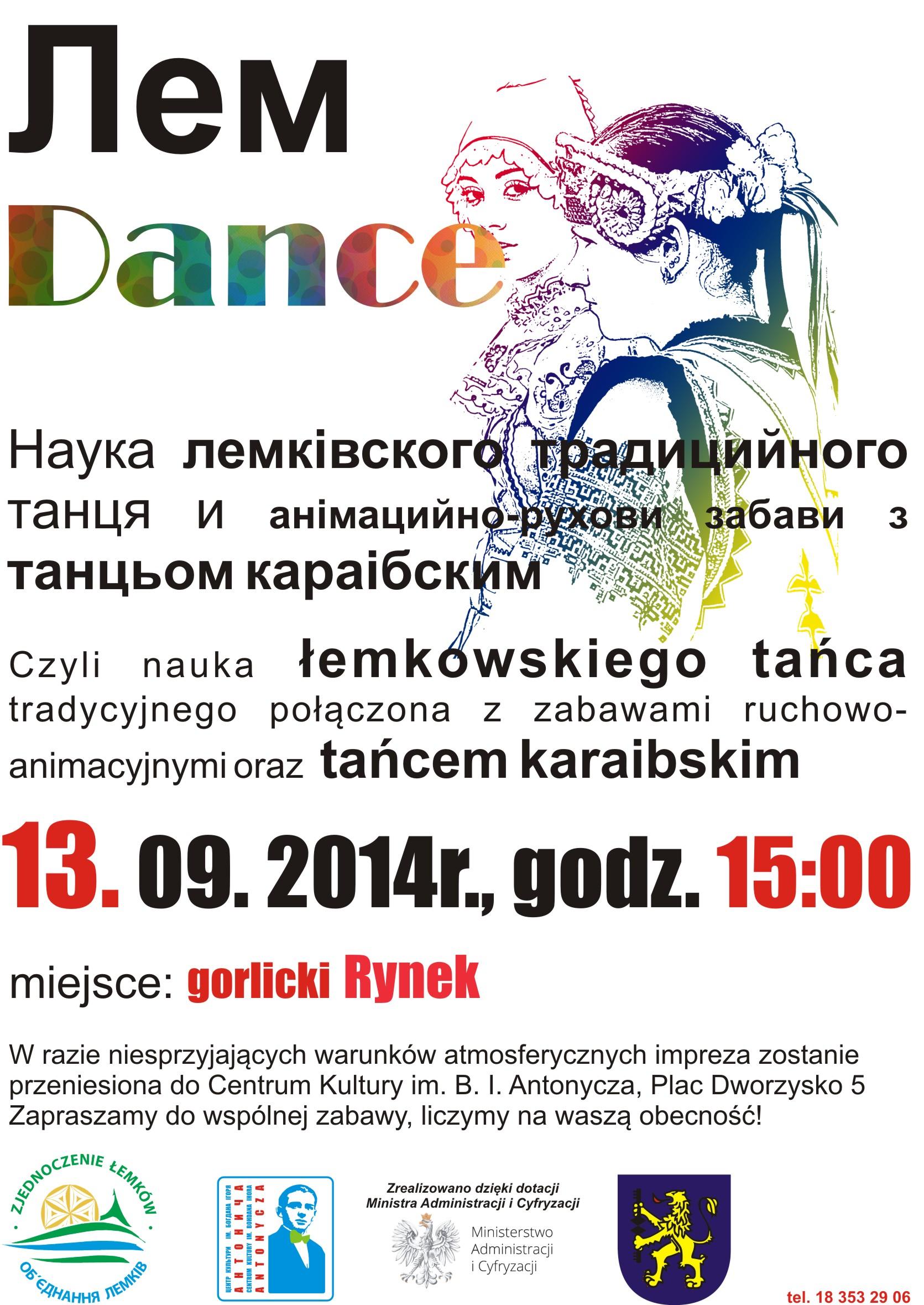 Plakat Lem Dance